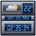 Digital Clock Weather Widget 1.3.2 Apk
