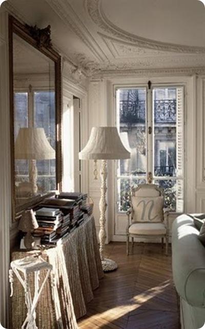 shabby and charme appartamento di charme a parigi. Black Bedroom Furniture Sets. Home Design Ideas