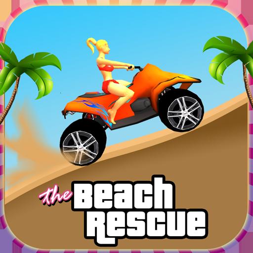 海滩救援越野车3D 賽車遊戲 LOGO-玩APPs