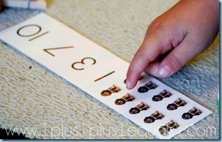 Preschool Math Printables Clothespin Clip Counting Cards
