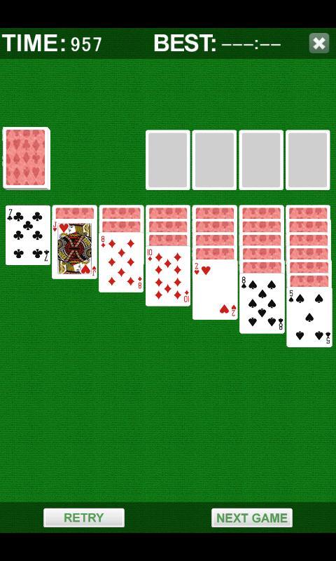 Solitaire Plus- screenshot