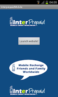 Interprepaid Top Up Worldwide- screenshot thumbnail