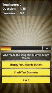 Music Hits Quiz Trivia - 1990s - screenshot thumbnail