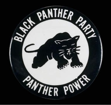 Emblem of the Black Panther Party of 1966