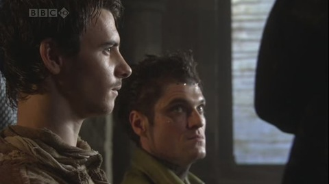 Robin Hood: Lardner's Ring (Harry Lloyd as Will Scarlett and Mathew Horne as The Fool)