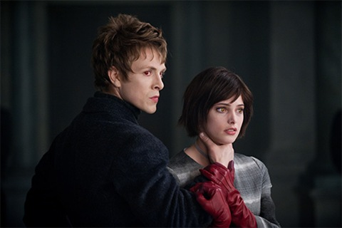Demetri and Alice New Moon (Charlie Bewley, Ashley Greene)