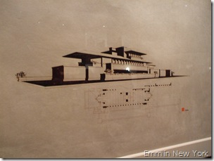 Guggenheim Frank Lloyd Wright Drawing