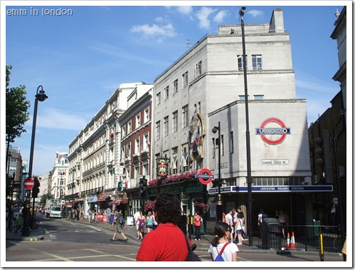 Leicester Square Station - Charing Cross Road