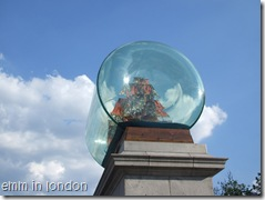 Yinka Shonibare's Nelson's Ship in a Bottle