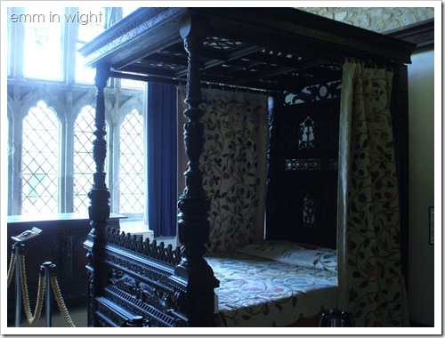 Carisbrooke Castle - Charles I's bedroom