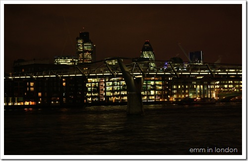 London Bankside by Night 4