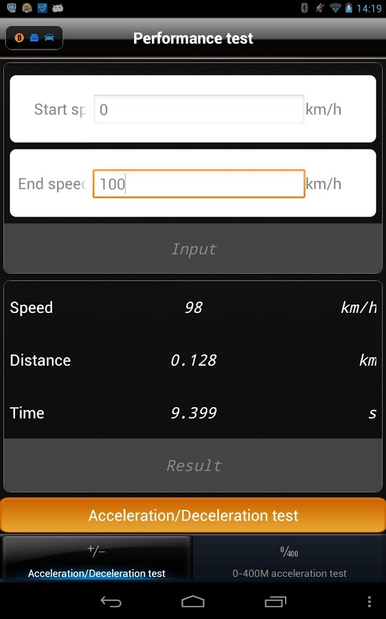iOBD2- screenshot