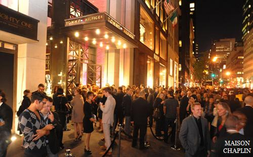 45eab0803299 Tommy Hilfiger Fifth Avenue store opening