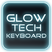 Glow Legacy Tech Keyboard Skin