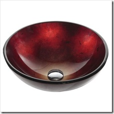 14_ Irruption Clear Glass Vessel Sink