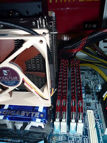 RAM next to CPU and Fan