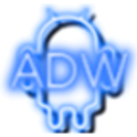 Neon Blue ADW Theme icon