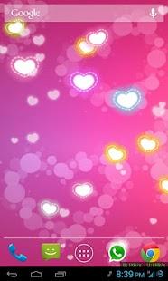 Hearts Live Wallpaper PRO