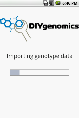 DIYgenomics- screenshot