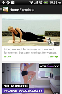 Home Excercises for Women Free