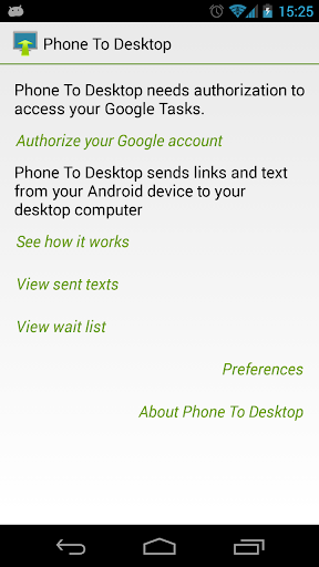 Phone To Desktop