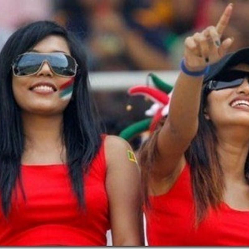 CUTE WORLD CUP CRICKET GIRLS