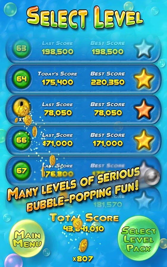 Bubble Bust! Free Bubble Shoot - screenshot