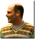 Matt Weiner, the genius behind Mad Men