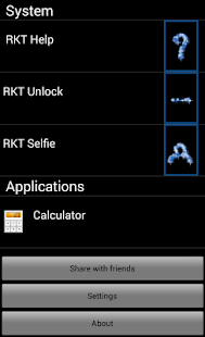 RKT Launcher - screenshot thumbnail