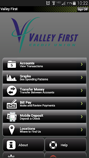 Valley First Credit Union - screenshot thumbnail