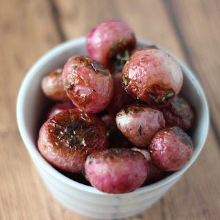 Roasted Radishes with Thyme Recipe