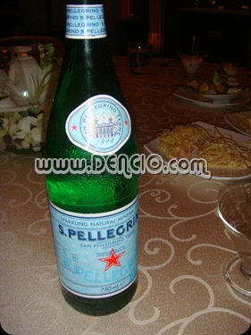 S. Pelligrono Sparkling Water