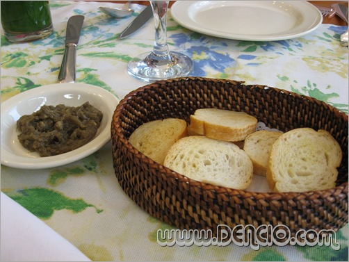 Bread and Eggplant Spread Something