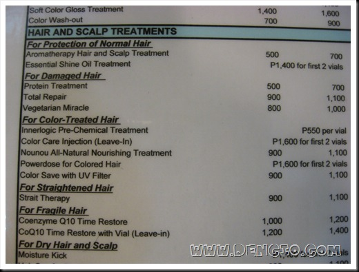 reyes haircutters hair and makeup price