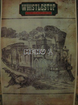 WhisleStop Menu