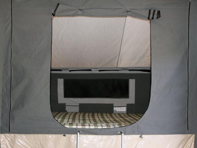 Galvanised Camper Trailer Offroad Deluxe 4wd 4x4 Tent