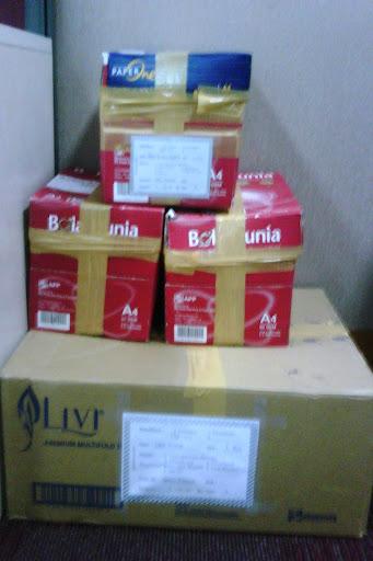 Contoh aplikasi Label Merah
