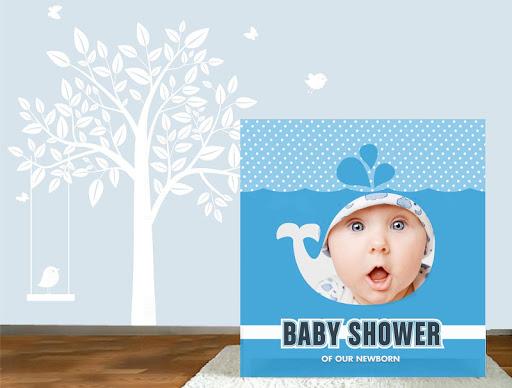 新出生的嬰兒相框