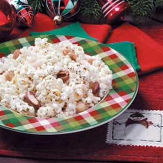 Nutty Seasoned Popcorn.