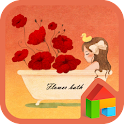 Be dyed with flower Dodol icon