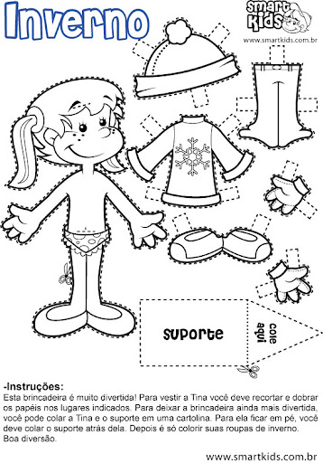 Muñecas Recortables Para Imprimir Y Colorear Tienda Online De Zapatos Ropa Y Complementos De Marca