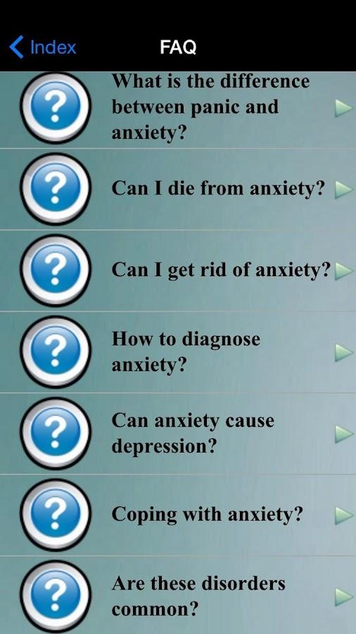 Anxiety Test - screenshot