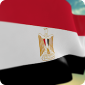 Egypt Flag: Live Wallpaper