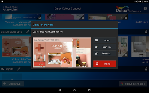 Dulux Colour Concept- screenshot thumbnail