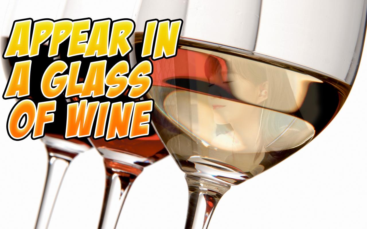 wine glass photo frames hd screenshot