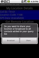 Screenshot of Droid Locator