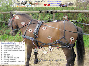 Zilco SL Single Driving Harness Breast Collar And Trace Set