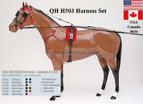 Zilco Racing Trotting Horse Harness QH H503