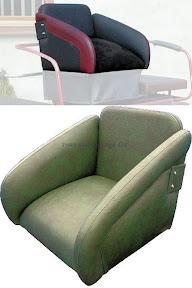 Basic Horse Carriage Seat Type 10461