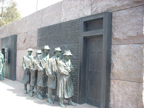 Breadline at FDR memorial